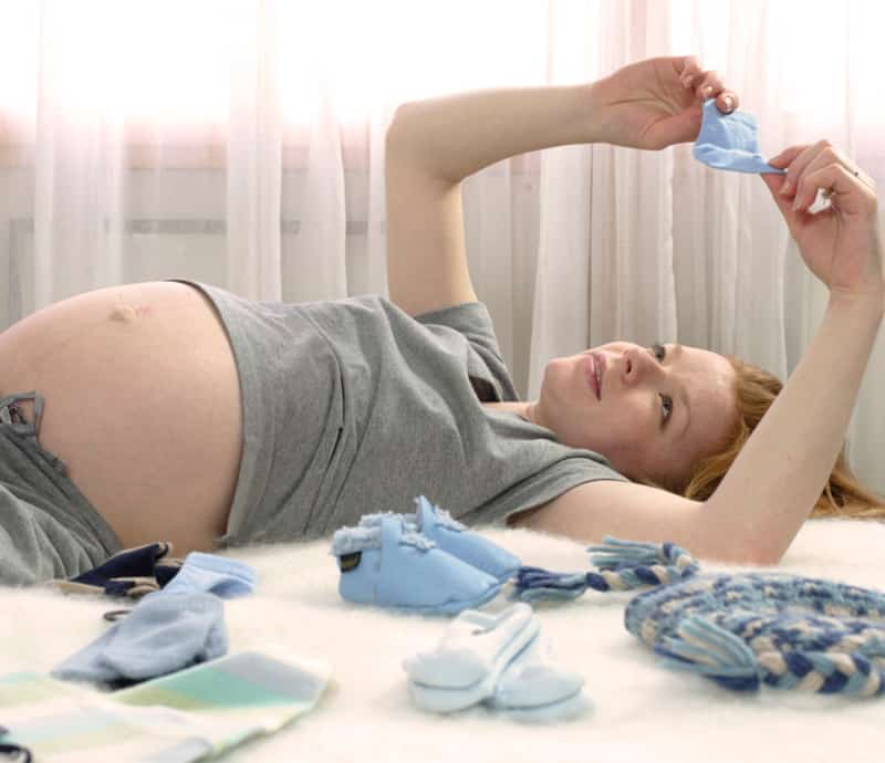 montando a lista do chá de bebê